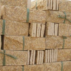 Tiger skin yellow granite paving stone