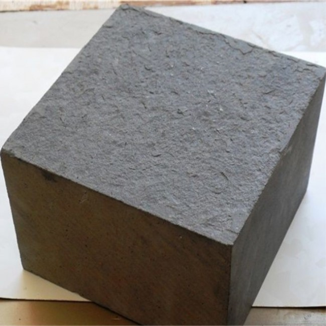 Black basalt cobblestone