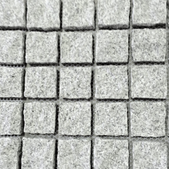 Grey granite outdoor floor pavement