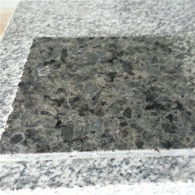 Thin granite tiles fiberglass back