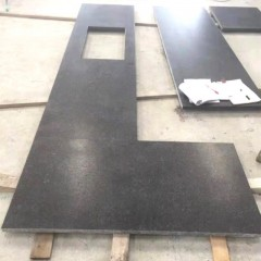 Honed China black  granite kitchen  countertop