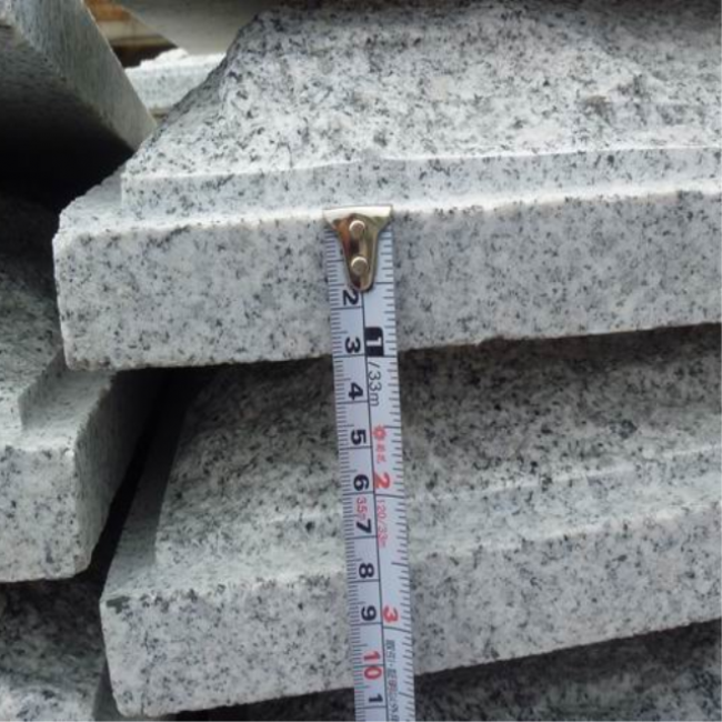 Mushroom stone natural split G603 granite facade