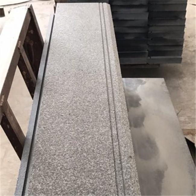 Indian absolute black granite stair steps