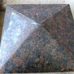 Tan brown granite kerbstone