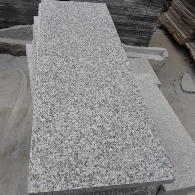 Flamed G603 granite tiles, granite driveway paving