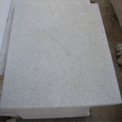 Polished pearl white granite tiles