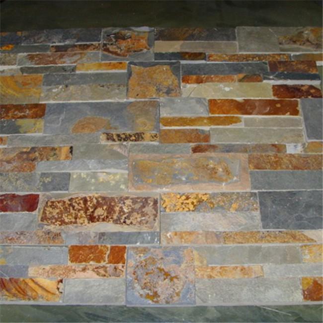Copper gold slate