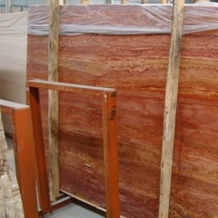 Travertine rossa