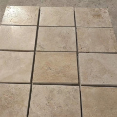Antique surface outdoor travertine stone paving tiles