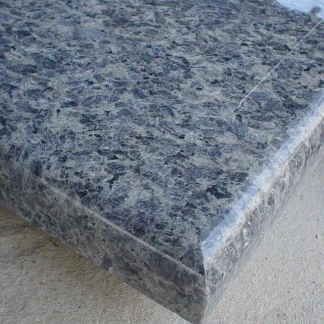 Ice blue granite countertops