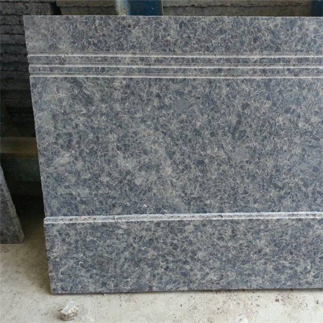 blue ice granite stair