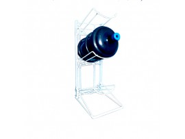Factory Sturdy OEM Design 3 Tiers Metal Bottle Water Rack