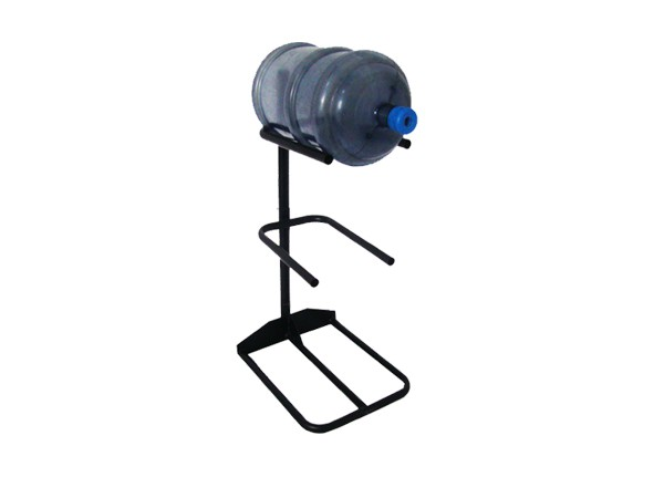 No Foldable  Balck Metal mineral water bottle stand