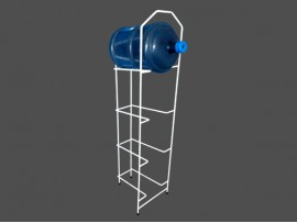Factory Directly Supply Metal Wire 5 gallon water bottle storage rack