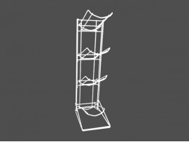 Customized 4 Tier Water Bottle Rack with competitive price