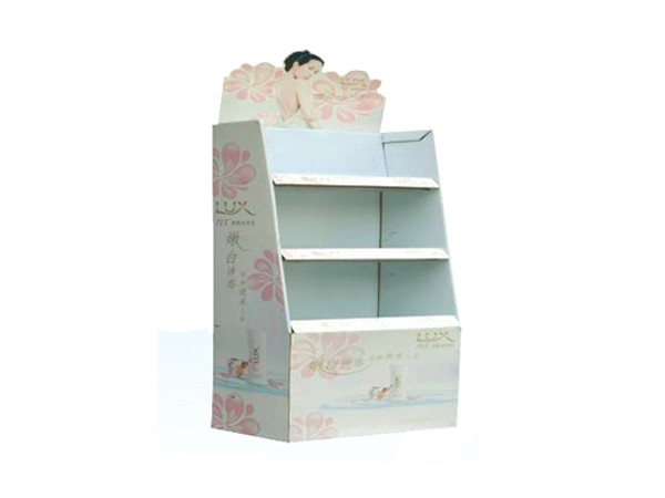 Supermarket Supply Cardboard Display Shelf for Shampoo