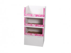 Customized design paperboard display rack