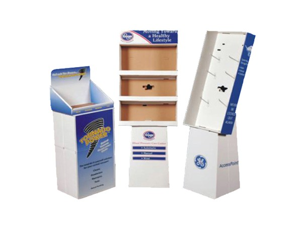 Factory supplier cheap cardboard display rack