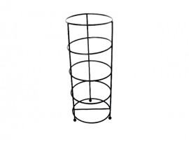 Muti Layer Metal Flooring Bathroom Rack