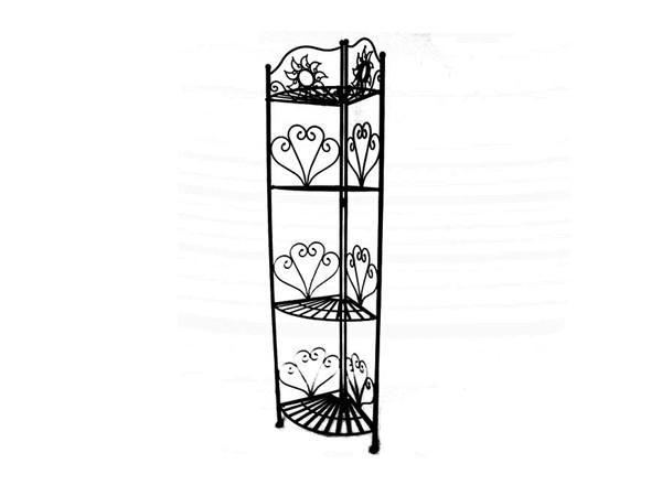 Bathroom metal corner rack