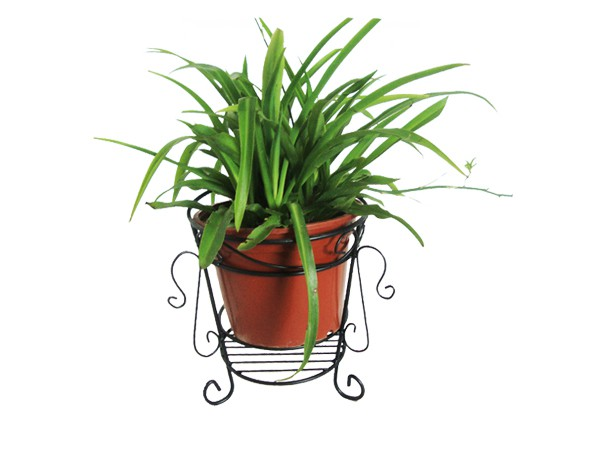 Garden supply metal flower pot stand