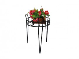 Home and Garden supply metal flower stand for flower