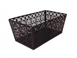 Metal basket for house hold storage