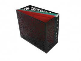 Metal file holder box