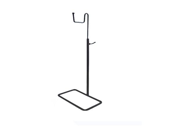 Metal bag hanger with sheep hook