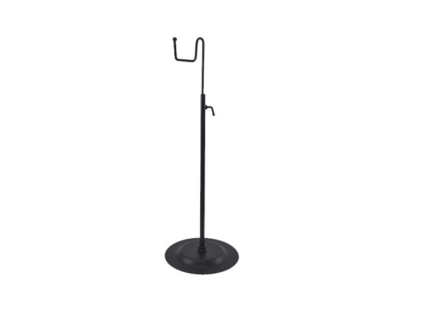 Round bottom metal bag stand