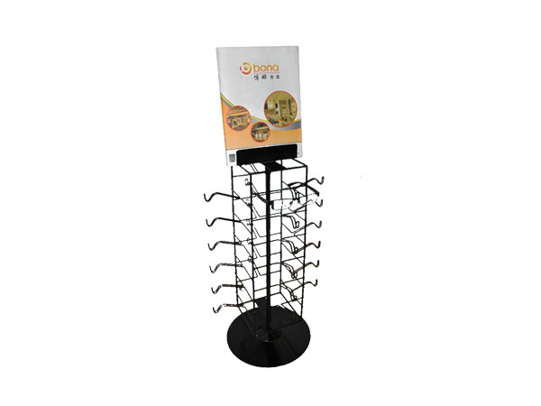 metal stable eyeglasses display rack