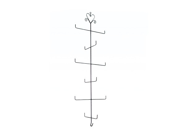 Metal wire hanging rack for tie