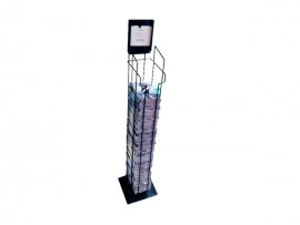 high quality metal book rack