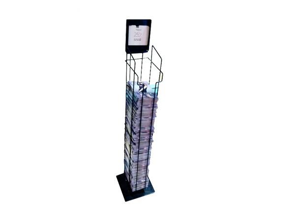 high quality metal book rack