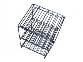 Factory Directly Supply Powder Coated Metal Nail Polish Display Rack/Stand/Shelf