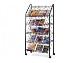 Customized Supermarket High Quality Metal Book Display Rack