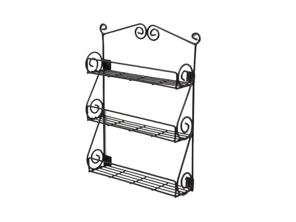 Sturdy Fashional Design Wire Metal Showroom Display Shelf