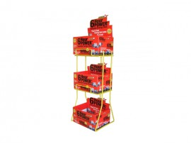 3-Tiers Foldable Design Storage Display Stand