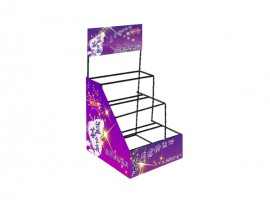 OEM Design Hot Sale Metal pharmacy display rack