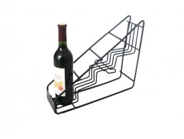 Bottled wine displays for bar supply