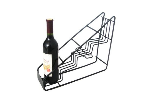 Bottled wine displays for bar supply