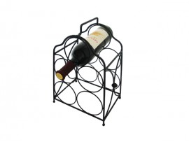 Counter 5 bottles wine display racks