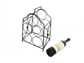 Counter 5 bottles wine display racks