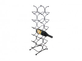 House supply metal wine bottle display racks