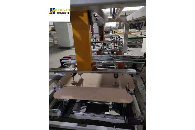 New generation film packing machine for door, flooring, box