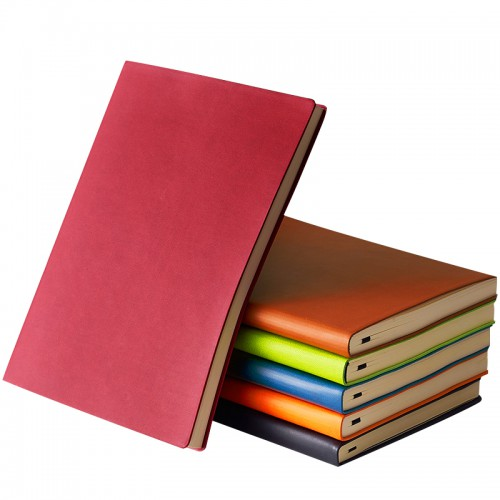 2019 Wholesale Cheap Customized Printing Notebooks 40/120 Sheet a5 libretas y cuadernos Diary Gift Leather Notebook