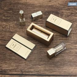 2019 Promotional cardboard drawer kraft paper small lipstick box packaging wholesale Custom design paper cosmetic box
