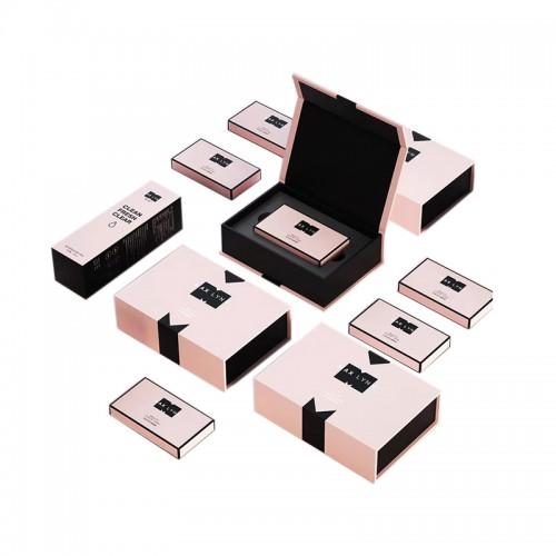 2019  custom empty premium luxury makeup skin care product paper packaging cosmetic box