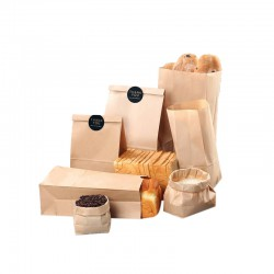 2019 Hot Burger Food Recyclable Packaging Printed Paper Bags