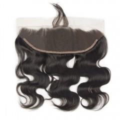 1 PC 13x4 Body Wave Transparent Lace Frontal